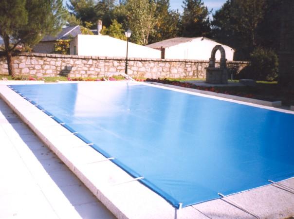 Lona para piscina precios cool cobertor de seguridad gran for Piscina lona rectangular