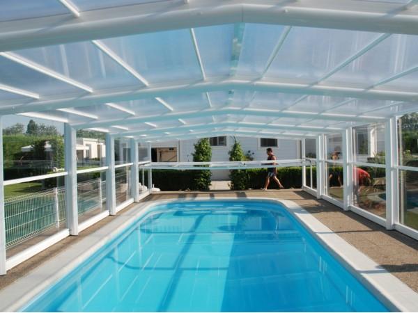 Cubiertas altas para piscinas instalaci n de cubiertas altas fijas y telesc picas - Piscinas altas ...