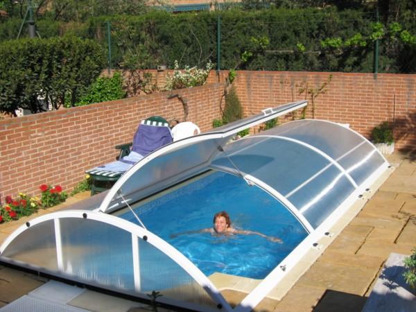 cubiertas bajas para piscinas comprar e instalar una