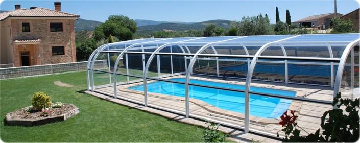 Cubiertas fijas cubiertas fijas para piscinas - Techo piscina cubierta ...