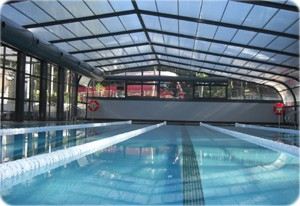 Cubiertas para piscinas grandes piscinas semiol mpicas y ol mpicas - Techo piscina cubierta ...